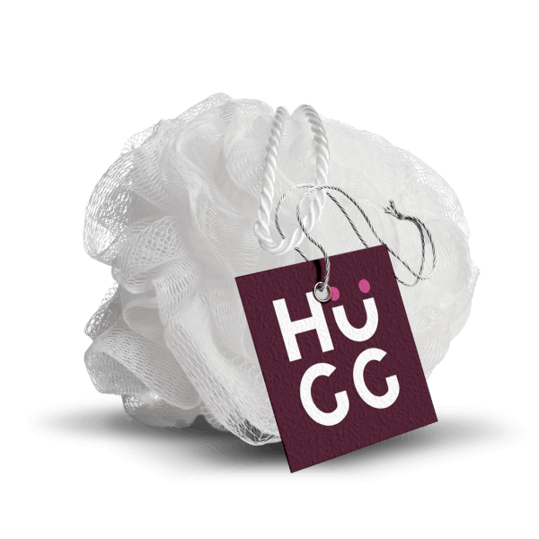 HuGG Shower Puff