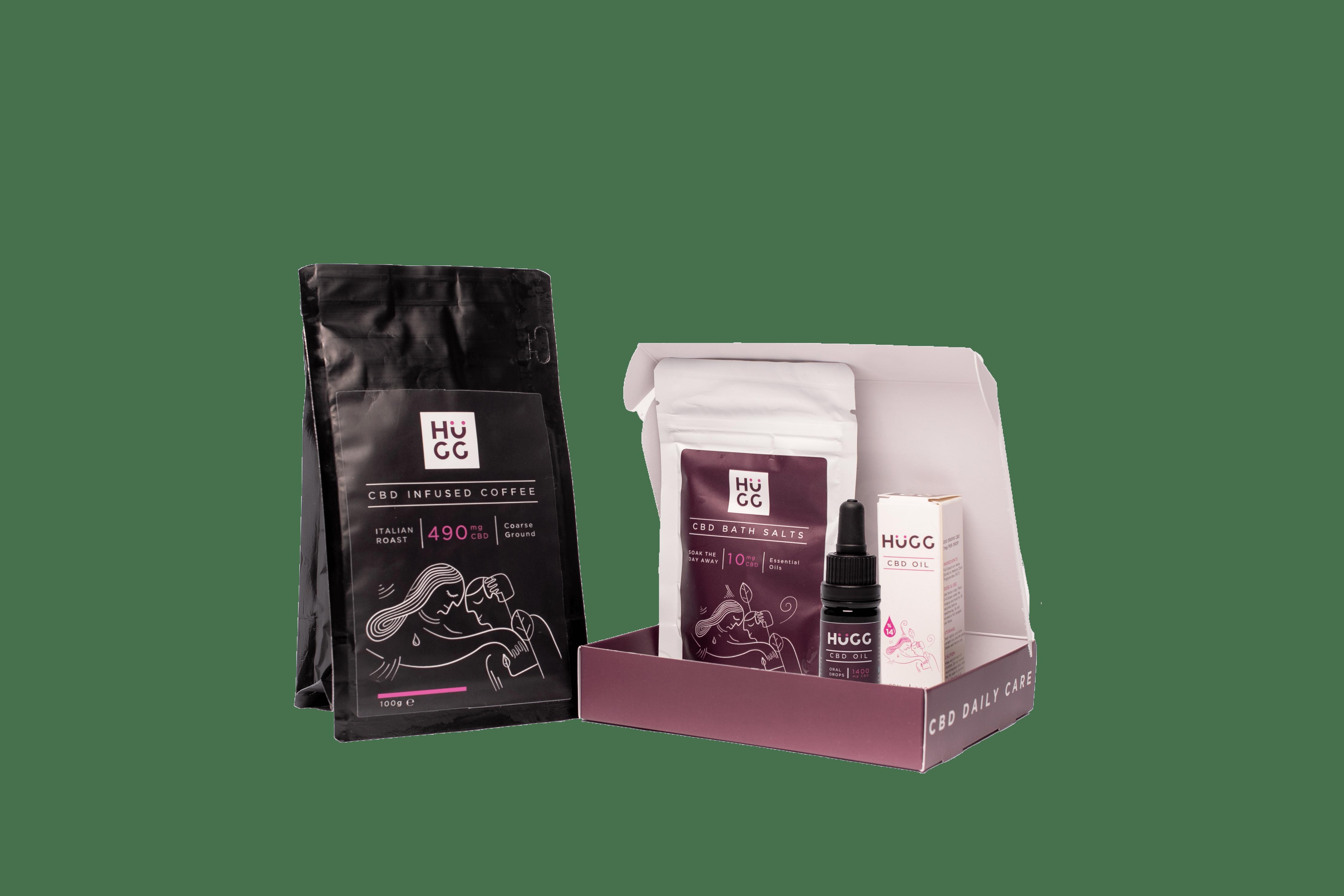 HuGG CBD Gift Kit with Free Coffee