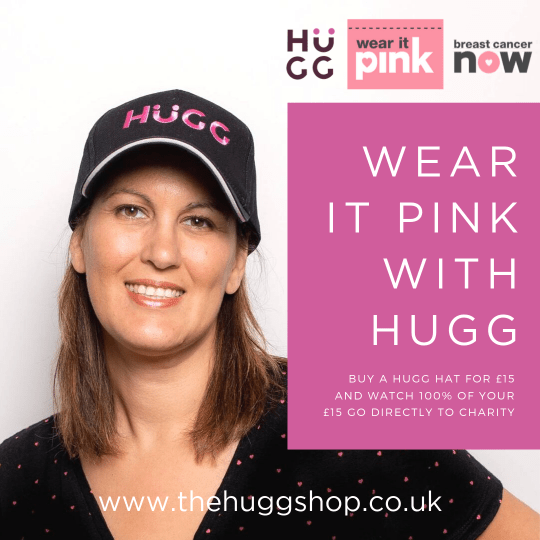 Breast Cancer Awareness. Hugg Pink Cap