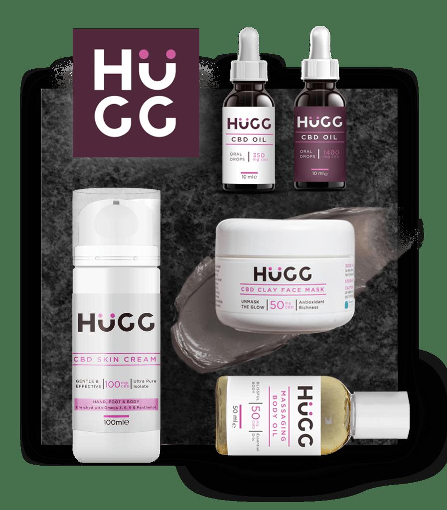 HUGG CBD footer