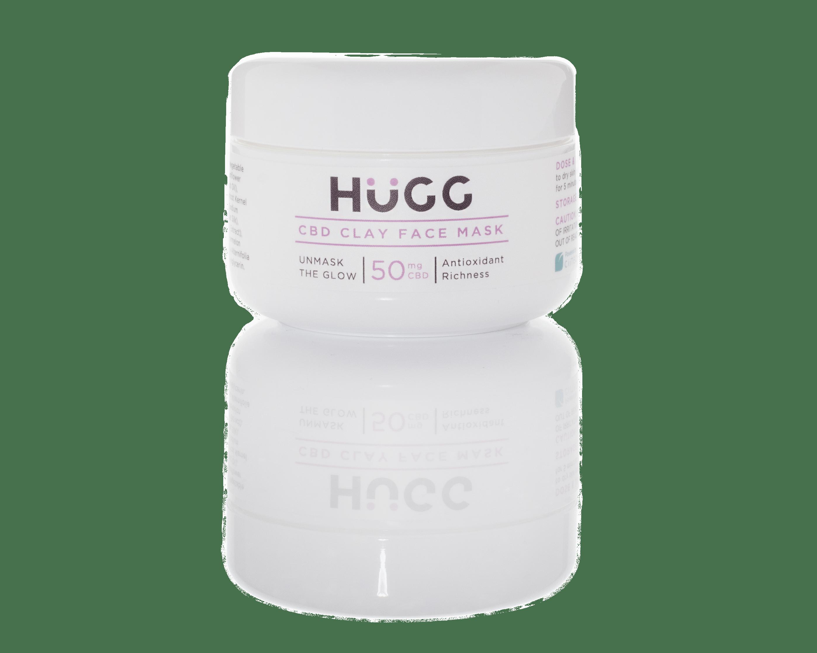 HuGG CBD clay face mask