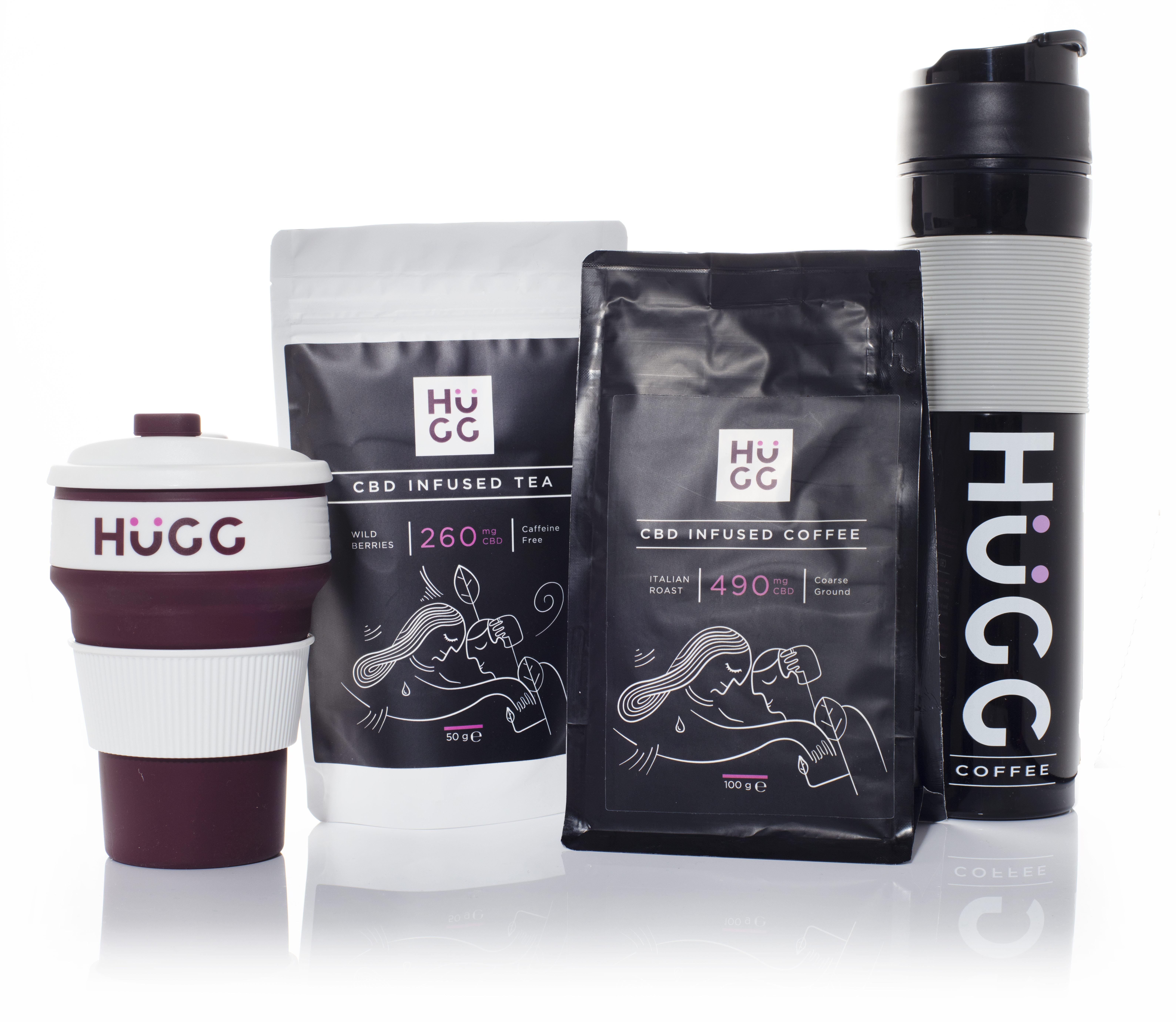 HuGG CBD Coffee & Tea