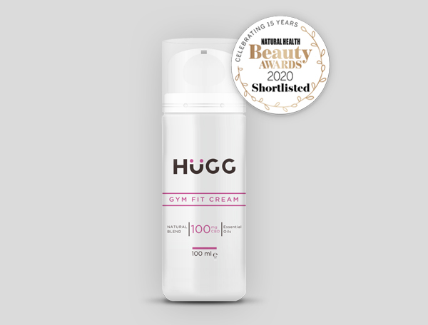 HuGG Gym Fit Body Cream has been named an award finalist